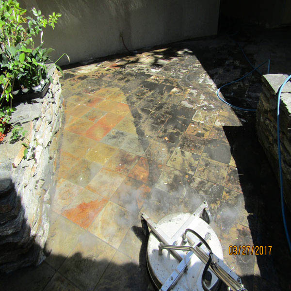 Pressure Washing Surface Cleaning
